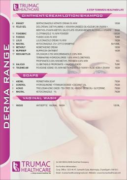 dermatology products franchise